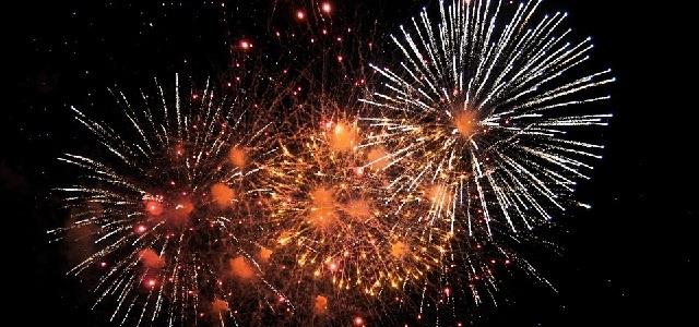 feu d'artifice niort deux-sèvres 14 juillet