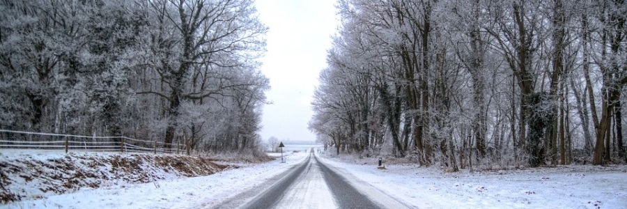 neige route