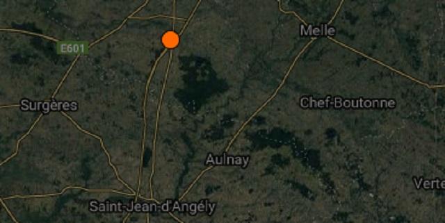 tremblement de terre niort